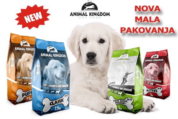 Dog food - small packages